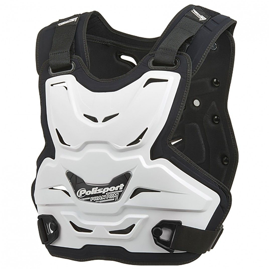 Phantom Lite - Chest Protector White for Adult