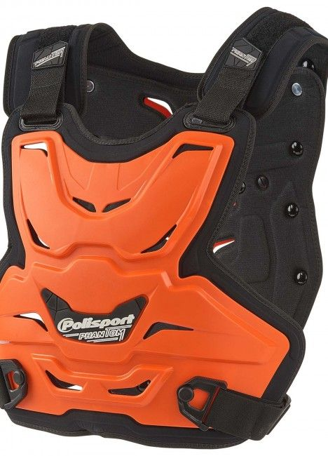 Phantom Lite - Chest Protector Orange for Adult