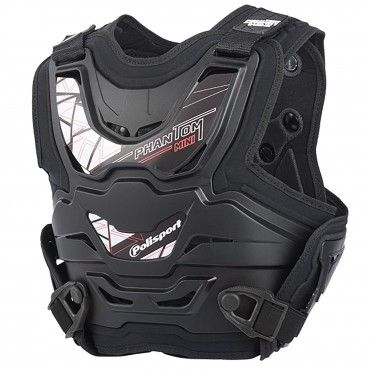 Phantom Mini - Chest Protector Black for Kids