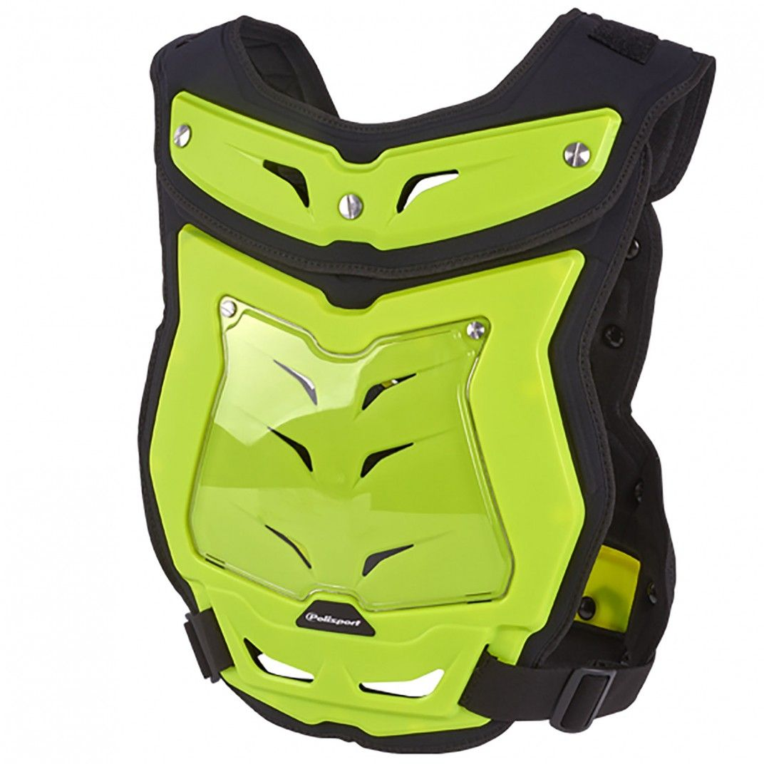Phantom Lite - Chest Protector Yellow Flo for Adult