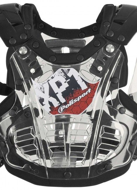 XP1 Mini - Chest Protector Clear and Black