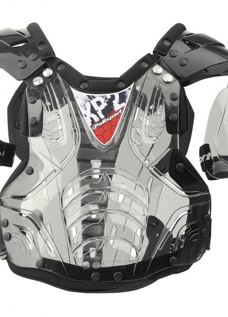 XP2 - Chest Protector Clear and Black for Adults