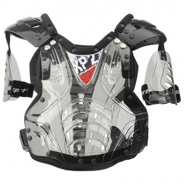 XP2 - Gilet de Protection Transparent et Noir pour Juniors