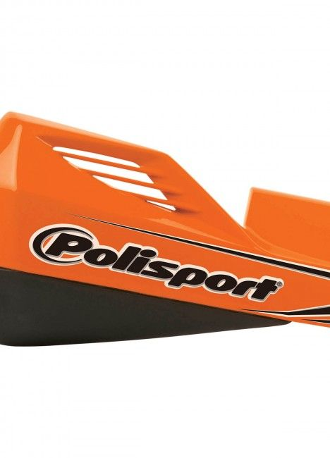 MX Rocks - Handprotektoren Universeller Orange/Schwarz - Enduro und MX