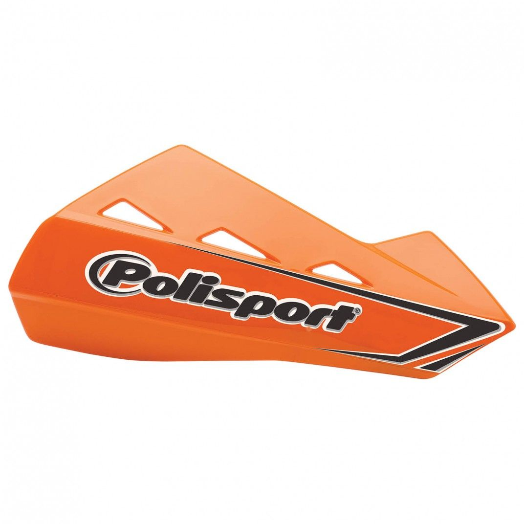 Qwest - Universal Orange Handguard - MX and Enduro