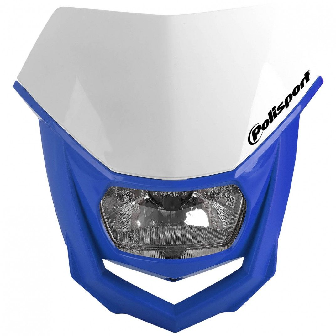 Halo Headlight White and Blue