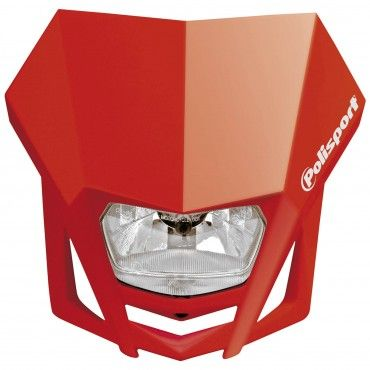 LMX Headlight Red