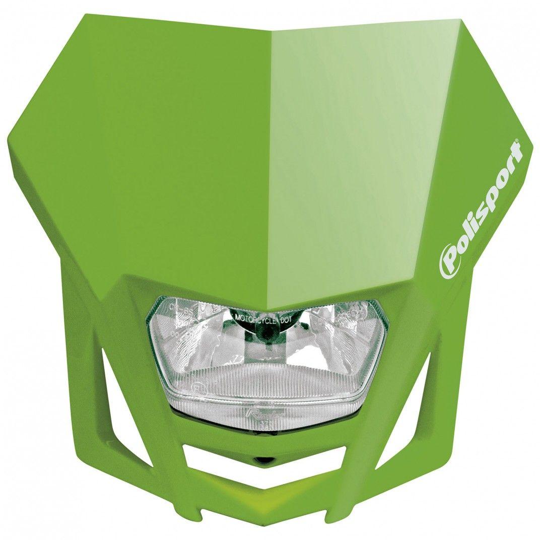 LMX - Mascherina Portafaro Verde