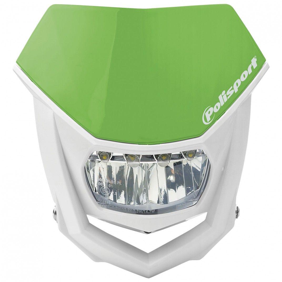 Halo Led - Mascherina Portafaro Verde e Bianco