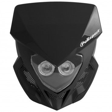 Lookos - Headlight Black with Battery