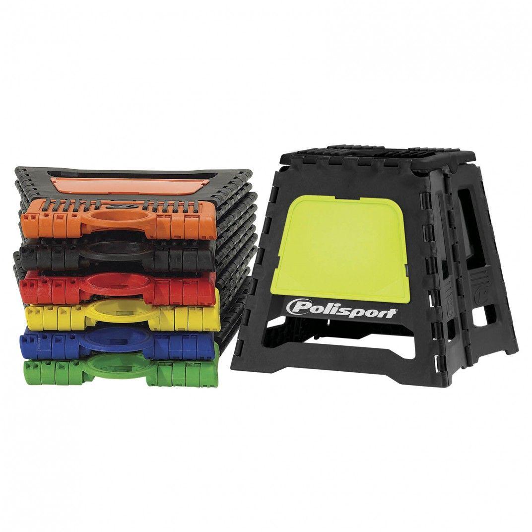 Bike Stand - Foldable Pit Bike Stand Yellow FLO