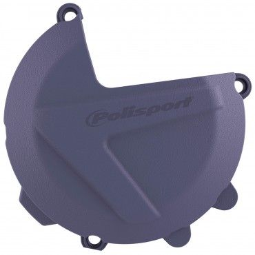 Husqvarna FE250,FE350 - Clutch Cover Protection Blue - 2019-20 Models