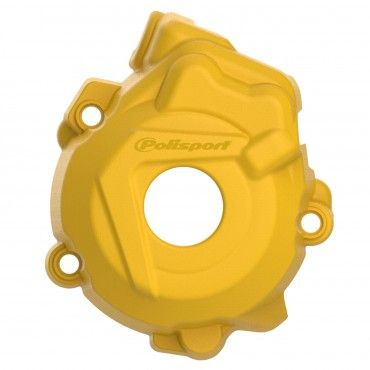 Husqvarna FE250,FE350 - Ignition Cover Protector Yellow - 2014-15 Models