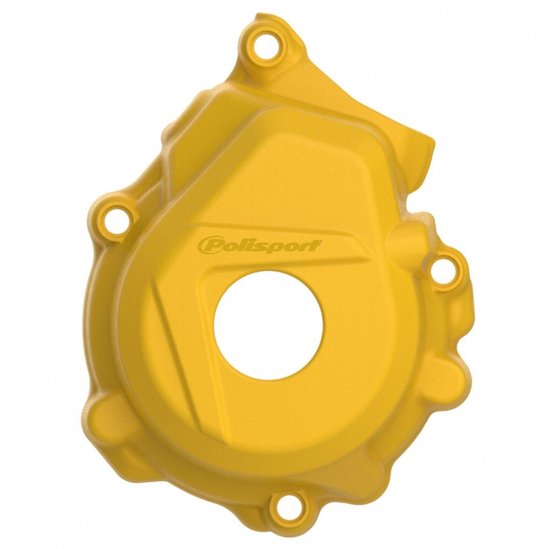 Husqvarna FE250,FE350 - Ignition Cover Protector Yellow - 2016-20 Models