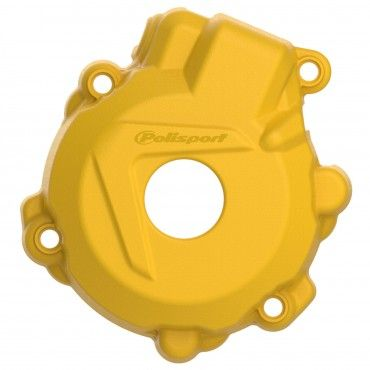 Husqvarna FE250,FE350 - Ignition Cover Protector Yellow - 2014-16 Models