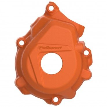 KTM 125/150SX,250/350SX-F,XC-F - Ignition Cover Protector Orange - 2016-20 Models