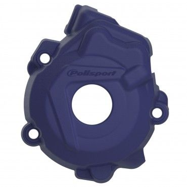 Husqvarna FC250,FC350 - Ignition Cover Protector Blue - 2014-15 Models