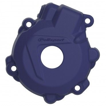 Husqvarna FE250,FE350 - Ignition Cover Protector Blue - 2014-16 Models