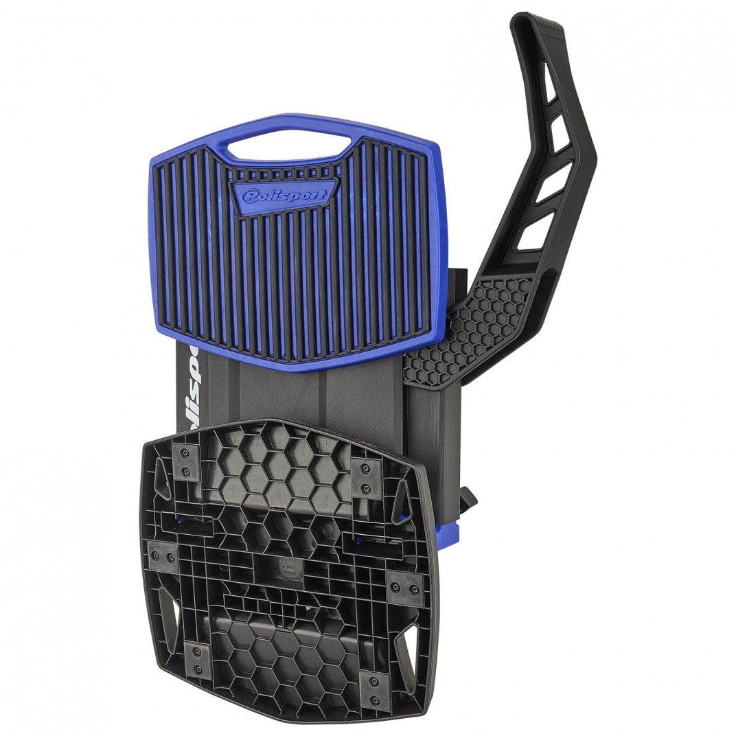 Foldable Lift Bike Stand Blue