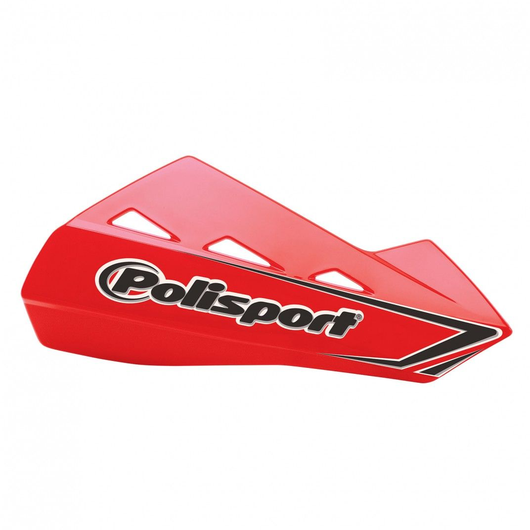 Qwest - Universal Red Handguard - MX and Enduro