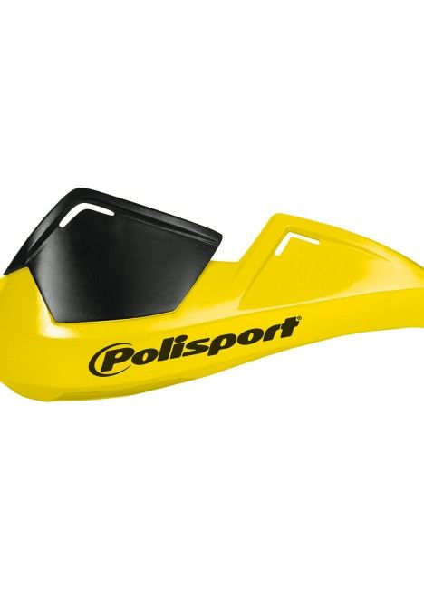 Evolution Integral Handguard Yellow - Rally and Trail
