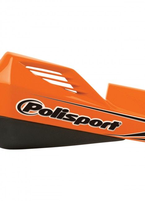 MX Rocks - Universal Orange/Black Handguard - MX and Enduro