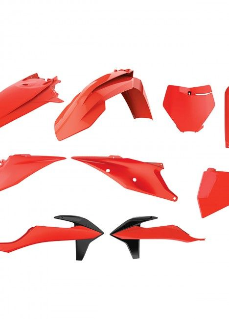 KTM SX,SX-F XC,XC-F - Replica Plastic Kit Flo Orange - 2019-20 Models