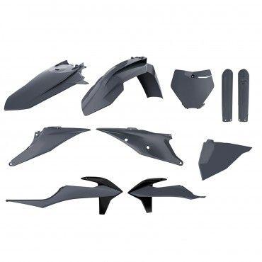 KTM SX,SX-F XC,XC-F - Replica Plastic Kit Nardo Grey - 2019-20 Models