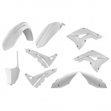 Honda CR125,CR250 - MX Restyling Kit White - 2002-07 Models