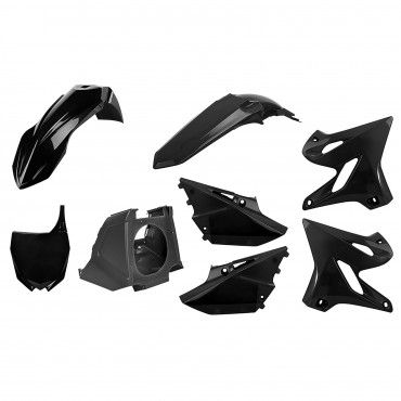 Yamaha YZ125,YZ250 - MX Restyling Kit Black - Modelos 2002-20