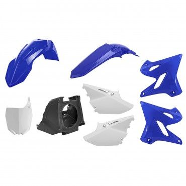 Yamaha YZ125,YZ250 - MX Restyling Kit OEM Color - Modelos 2002-20