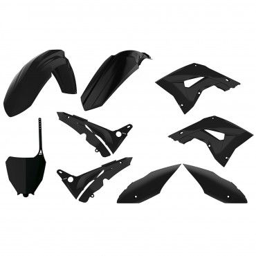Honda CR125,CR250 - MX Restyling Kit Black - 2002-07 Models