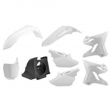 Yamaha YZ125,YZ250 - MX Restyling Kit White - Modelos 2002-20