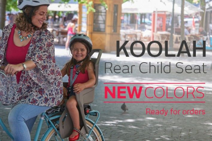 KOOLAH REAR CHILD SEAT