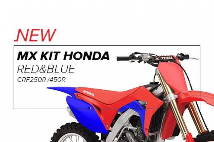 MX Kit Honda Red & Blue
