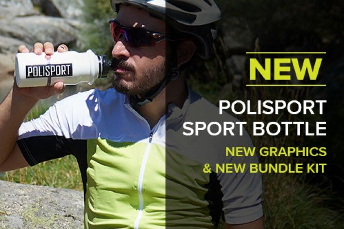 Bidons Desportivos Polisport e Bundle Kit