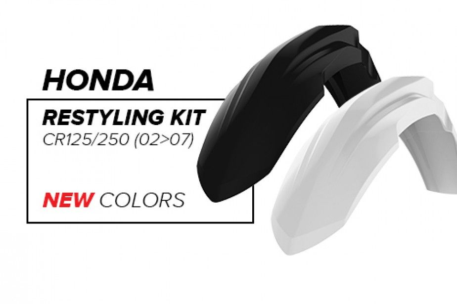 Honda CR Restyling Kit - New colors