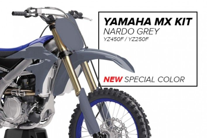 Novo Kit Yamaha - Nardo Grey