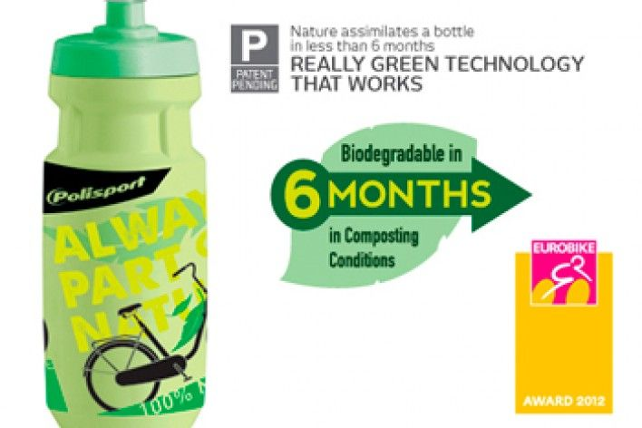 Polisport Biodegradable bottle wins Eurobike IFdesign Award