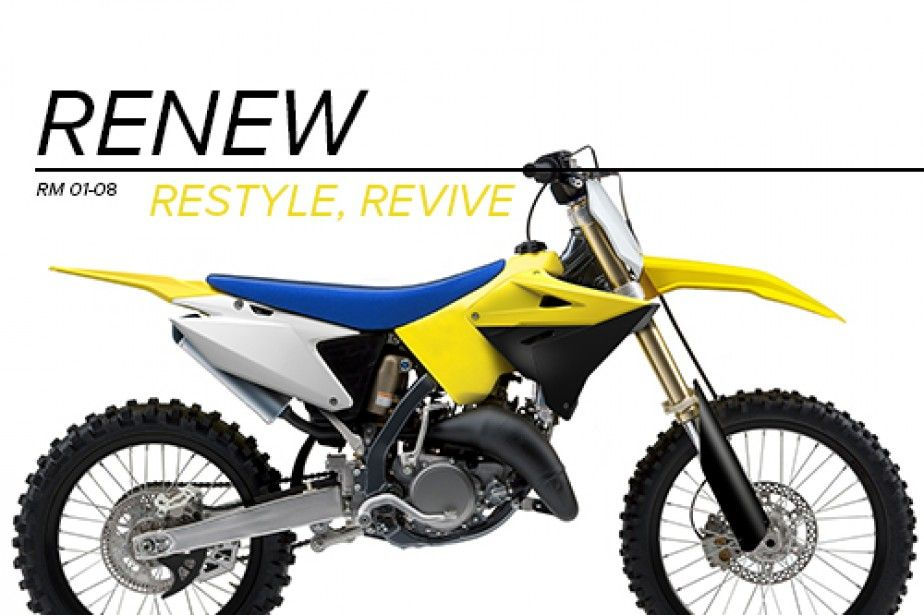 RM 125/250 - Restyling Kit