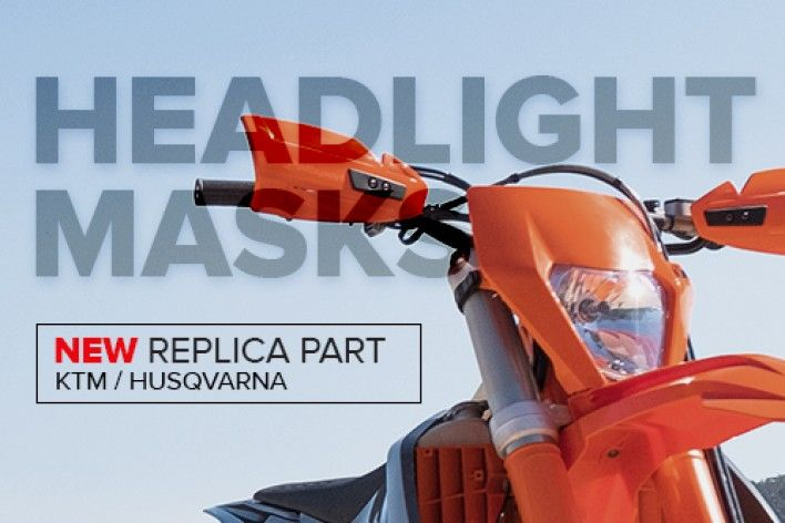 New Headlight Masks - For KTM and Husqvarna Models