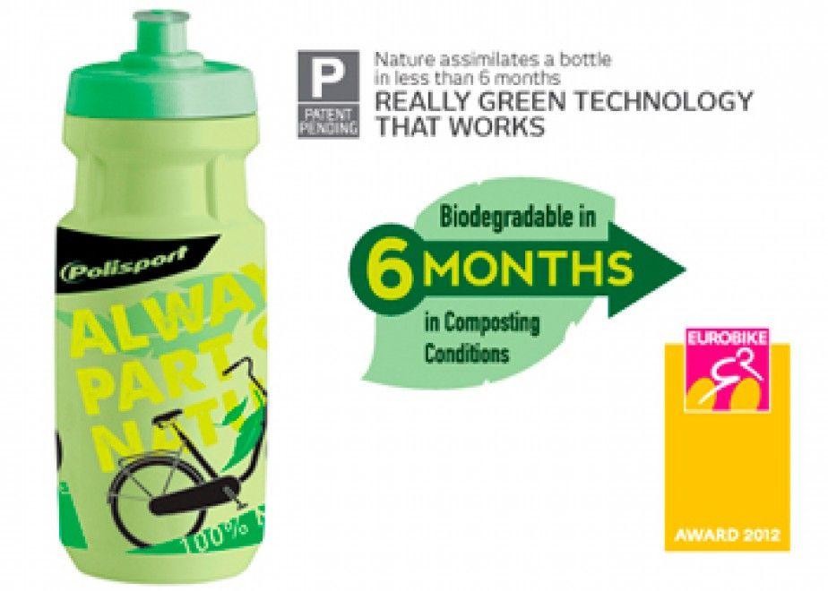 Polisport Biodegradable bottle wins Eurobike IFdesign Award