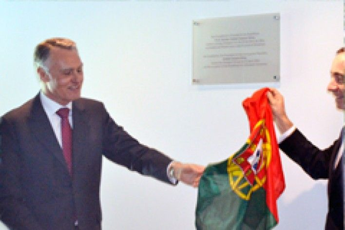 President of Portugal Visits Polisport