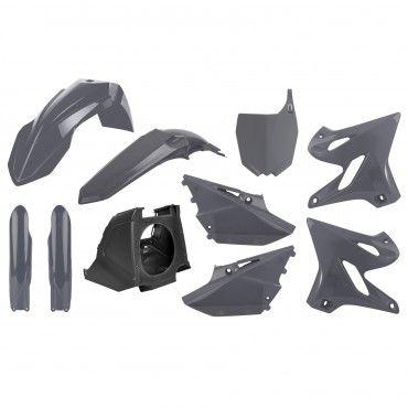 Yamaha YZ125,YZ250 Restyling - Kit Plásticos Nardo Grey - Modelos 2002-20