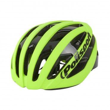 Light Pro - Casque de Vélo pour Cyclisme et MTB Flo Jaune - Taille M