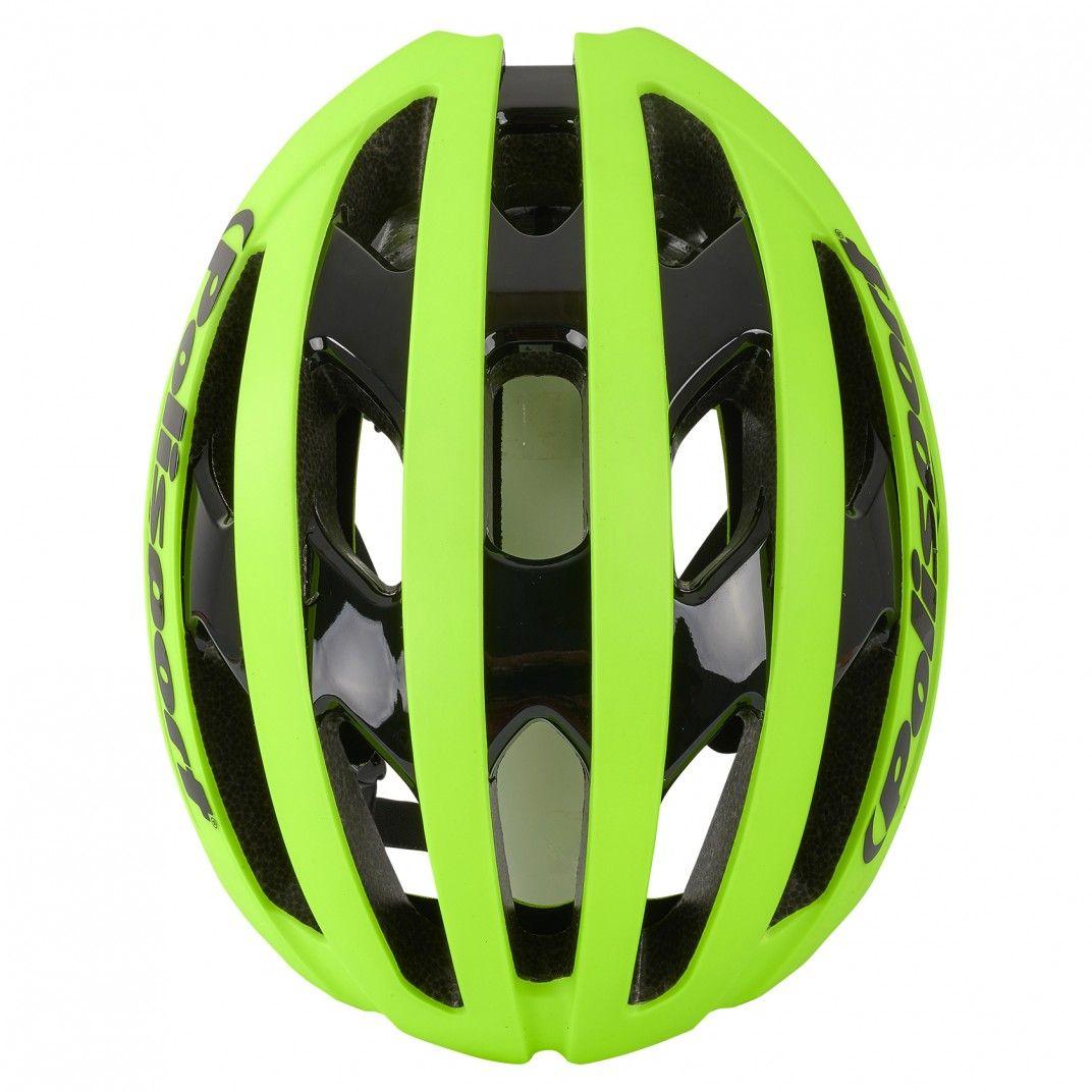 Light Pro - Casco para Ciclismo y MTB Amarillo Fluo - Talla M