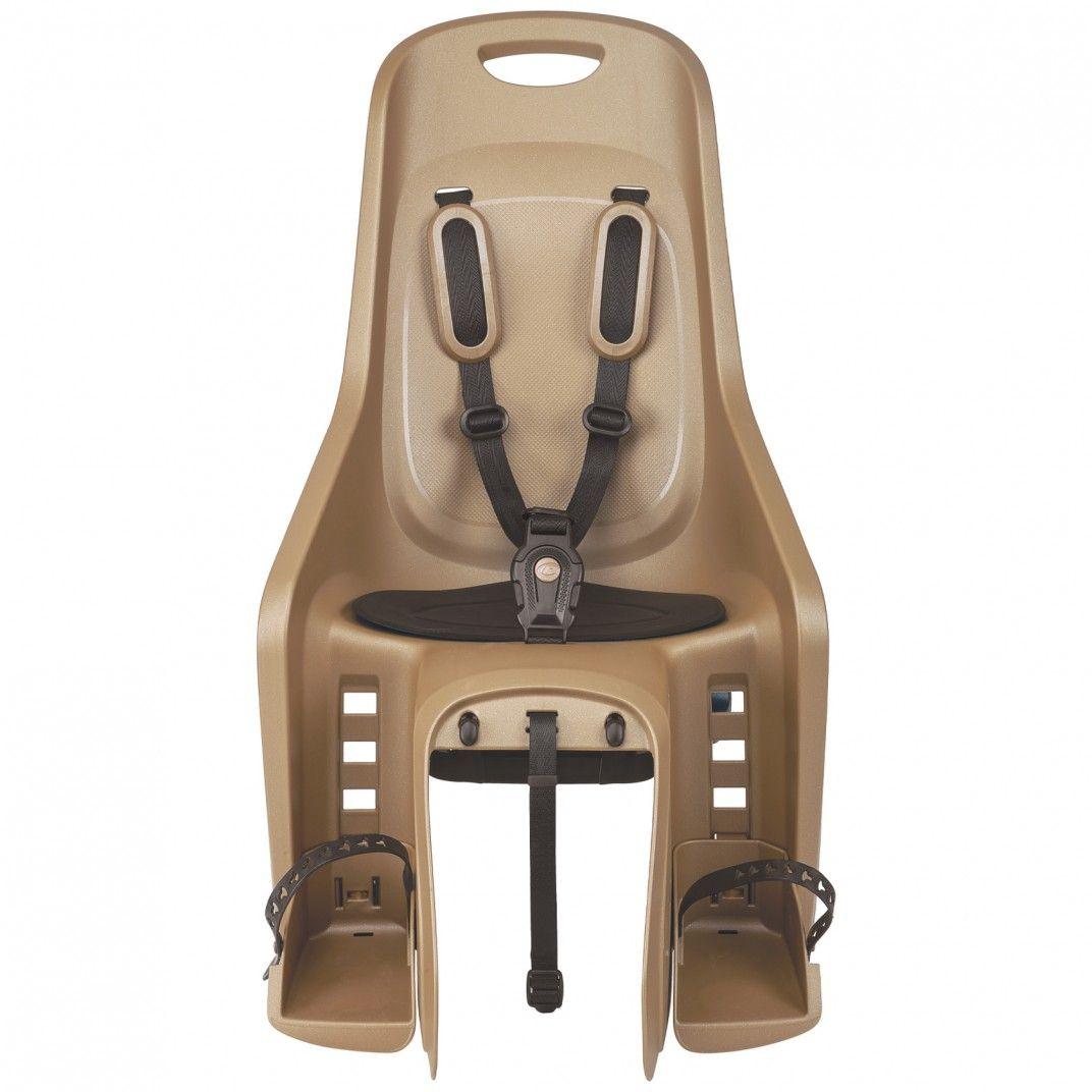 Bubbly Maxi CFS - Cadeira para Bicicleta para Fixação ao Porta-Bagagem Dourada