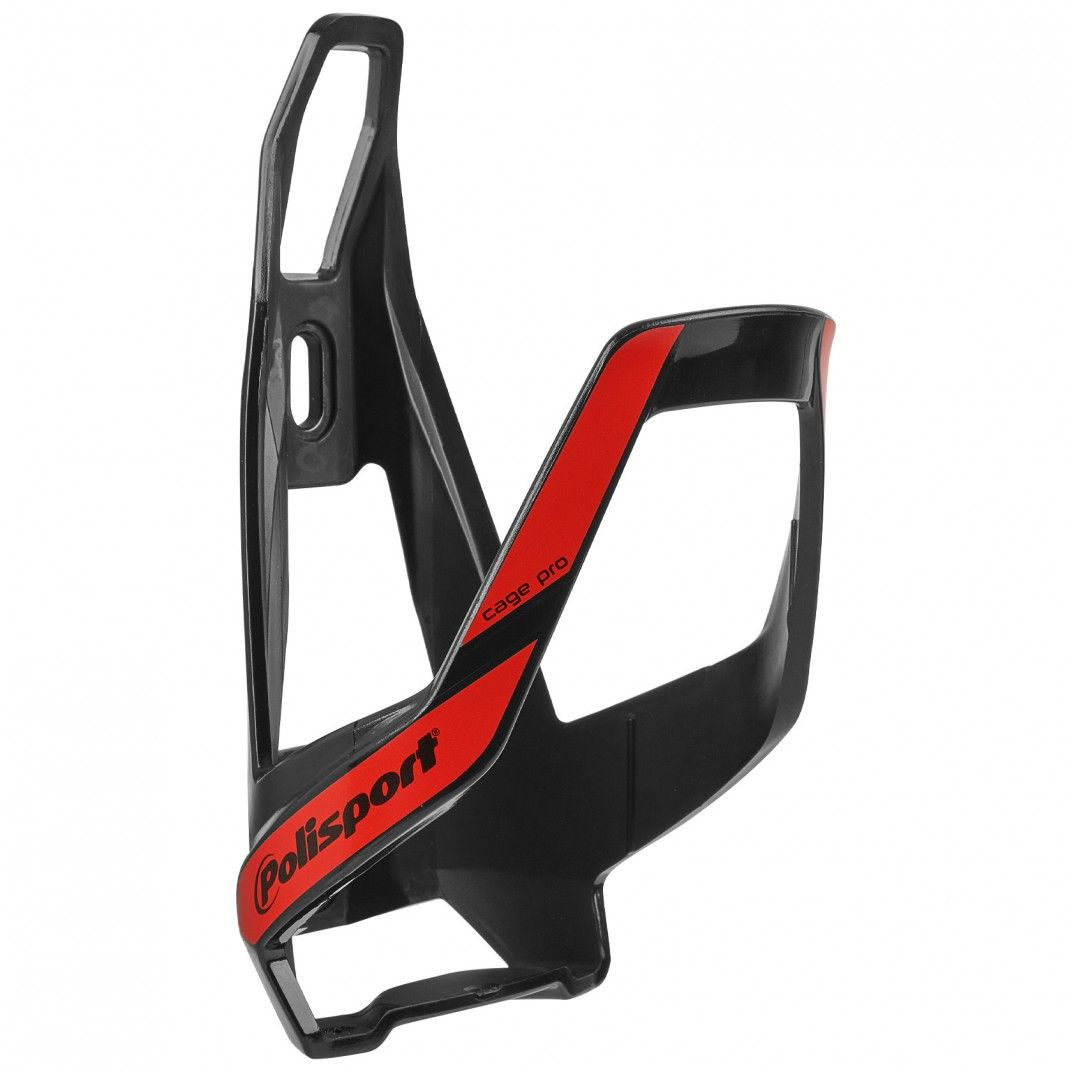 Bottle Cage Pro Black and Red