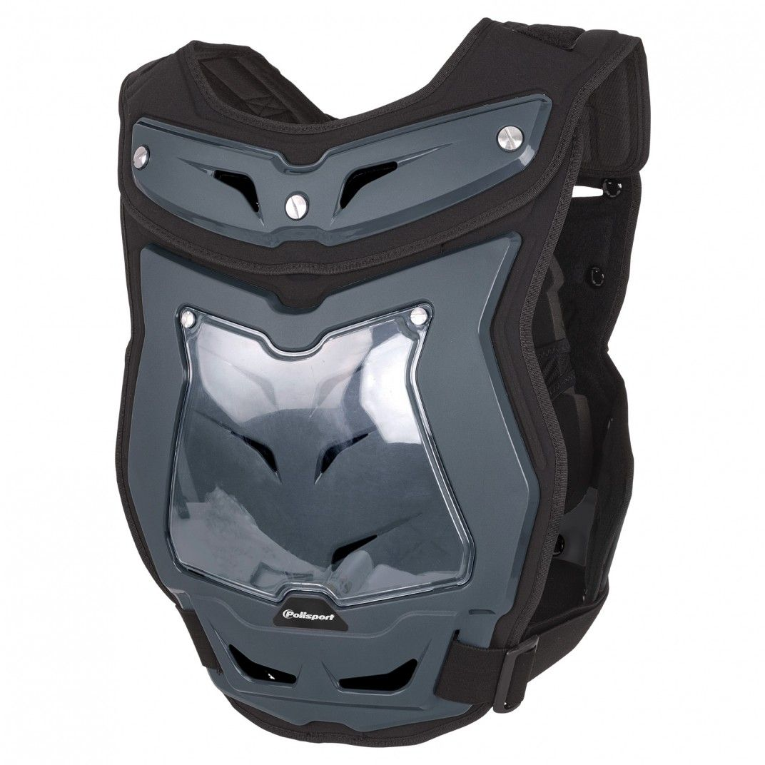 Phantom Pro - Chest Protector Nardo Grey for Adult