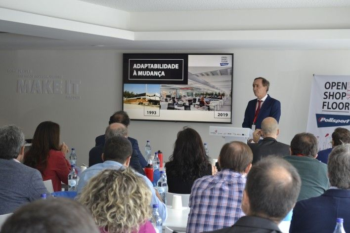 "Polisport recebe o evento ""COTEC Open Shop Floor"""